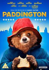Paddington 2015 DVD - Bear Tale Kids Children - NEW