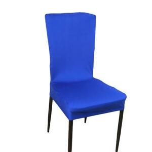 Stretch Spandex Chair Covers for Dining Room Removable Washable Protector KV