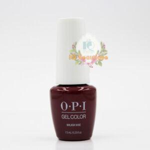 OPI GelColor Soak-Off Gel Polish 0.25oz / 7.5ml  MINI - Malaga Wine [GCL87B].