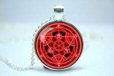 Full Metal Alchemist Fullmetal Alchemist Transmutation circle Pendant Necklace