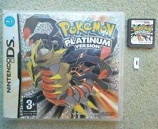 Pokemon Versión UK release Platinum * Original Probado * Nintendo DS 3DS 2DS