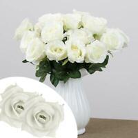 1x Handmade Artificial Rose Flowers Wedding Bouquets Valentine's Gift B5H6