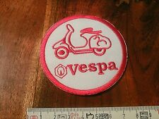 VESPA Aufnäher rot weiss VESPA Patch red white Correctifs Патчи 7,0 cm dN IRON