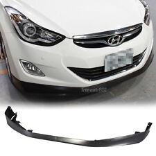 Fit 11-13 Hyundai Elantra MD Sedan OE Style PP Front Bumper Lip Polypropylene