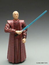 STAR WARS Emperor Palpatine 35 Blue REVENGE OF THE SITH COLLECTION ROTS LOOSE
