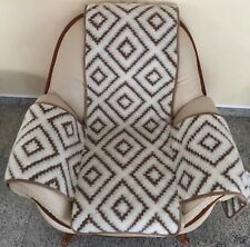 Seat Cover Athens Seat Cushion Throw Chair Cover Beige with Pockets