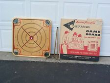 Vtg. Collectible 2 sided Game Board by CARROM