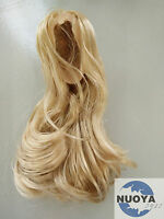"KUMIK 1:6 Scale Gold Female Wigs Hairs Curls 2.0  F Women Head Sculpt &12"" Body"