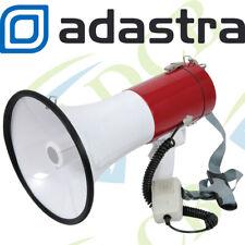 More details for adastra megaphone 30w powerful loud speaker with siren - handheld/shoulder strap