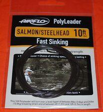 Airflo Polyleader Salmon / Steelhead NEW  ~ 10' Fast Sinking