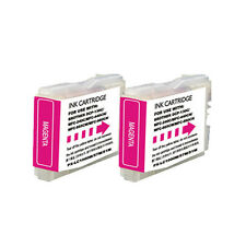 2 Magenta Replacement Ink for LC51M Brother MFC-230C MFC-240C MFC-440CN 465CN