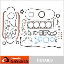Fit 82-88 Nissan Sentra Pulsar 310 1.5L 1.6L SOHC Full Gasket Kit E15 E16