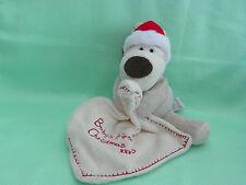 BOOFLE BABY *-* PREMIER NOEL *-* chien avec tissu doudou bébé