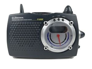 Emerson RP6249 AM/FM Portable Instant Weather Band Radio  Tested Works