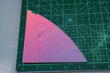 Smooth COE 96 fusible thin clear Spectrum glass CBS rainbow 1 dichroic remnant