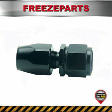 Universal AN10 10-AN Straight Swivel Oil/Fuel/Gas Line Hose End Male Fitting BK
