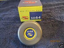 Stant SO64 Oil Filler Cap 1960-68 Chevrolet Camaro Chevelle Nova Ford GM Pontiac