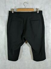 Orley Black Wool Shorts Waist 32""