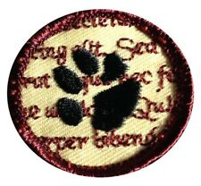 Biblio Cat Merit Badge Patch Funny Cats Books