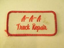 Vintage A-A-A Truck Repair Iron On Patch - Auto Road Service in Tulsa Oklahoma