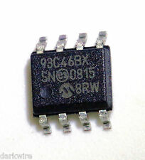4x Microchip 93C46BX-/SN 1K Microwire Serial Eeprom 8pin SOIC 150mil 93C46BX