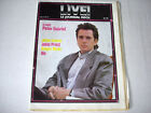 PETER GABRIEL on cover rare French magazine 1986 GOWAN