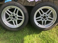 """BMW E38 M Sport 18"""" Parallel Alloy Wheels Unused With Original Michelin Tyres"""
