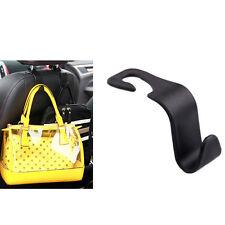 1pc Black Car Seat Truck Coat Hook Purse bag Hanger Auto Bag Organizer Holder