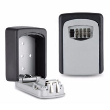 4 Digit Password Security Key Box Wall Mounted Key Safe Storage Lock