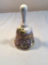 vintage collectable ornamental fine earthenware bell by brixham pottery