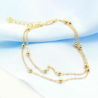 Bohemian Women Gold Plated Ankle Chain Anklet Bracelet Foot Jewelry Sandal Beach