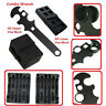 .223/5.56 Upper and Lower Vise Block, Combo Wrench Armorer's Tool 3PC Set Kit
