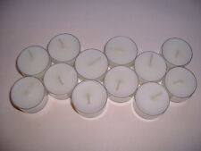 12 Tea Light Candles - Tealights - Hand Poured - 12 Gardenia