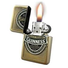 Wind Proof Oil Lighter with Gold Colour Casing - Guinness Ireland Collection (Op