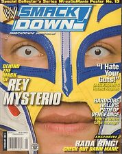 WWE Smackdown February 2004 Rey Mysterio NO POSTER VG 072516DBE
