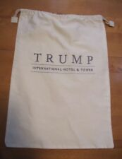 Trump International Hotel & Tower Laundry Drawstring Embroidered Bag NEW