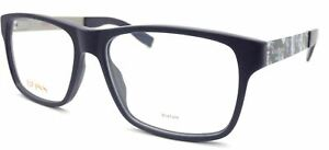 HUGO BOSS ORANGE Reading Glasses +0.25 to +3.50 Matte Blue + Print BO 0203 JX5