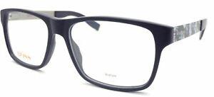 HUGO BOSS ORANGE Reading Glasses +0.25 to +3.50 Matte Blue + Print BO 0203 JX5