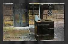 C1910 View of Jack Sheppards Chains, Newgate Prison, London