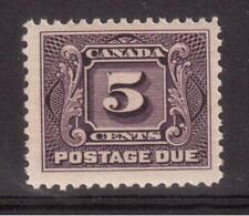 CANADA 1906 MINT NH #J4, POSTAGE DUE STAMP !! R