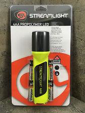 Streamlight ProPolymer 4AA LED Flashlight 68202 Yellow Firefighter unbreakable
