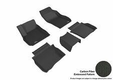 For 2017-2017 Buick Lacrosse R1 R2 Carbon Pattern Black Custom Fit Floor Mat