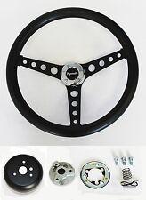 """1968-69 Road Runner Barracuda Cuda Fury Grant Black Steering Wheel 13 1//2/"""" New"""