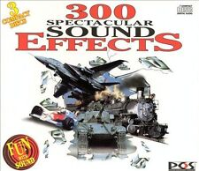 300 Spectacular Sound Effects 1994 Box 3 CD SET Halloween Sounds