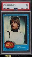 1977 Topps Star Wars Luke Skywalker #1 PSA 7 NRMT