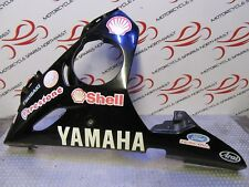 YAHAMAH YZF-R6 5SL 2004 LEFT LOWER BELLY PANEL FAIRING BK446