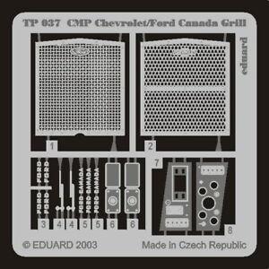 Eduard Models 1/35 CMP Chevrolet/Ford Canada Grill for Italeri kit