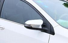 Chrome Rearview Side Mirror Cover Trim for Toyota Corolla ALTIS SEDAN 2014-2017