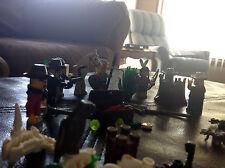 Lego Indian Minifigs Western Wild West Horse Skelton Cowboy Chief Sheriff  Lot 3