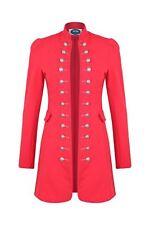 AO Long Blazer Uniform Military Karneval Fasching Kostüm Jacke Rot  XL 42